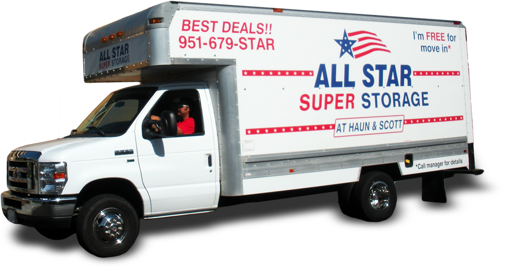 Image of All Star Self Storage Truck